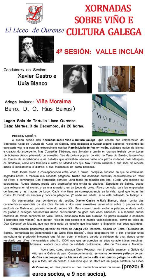 xornadas sobre viño e cultura galega