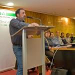 Random image: En primeiro termo Xurxo Álvarez, presidente da FRUGA