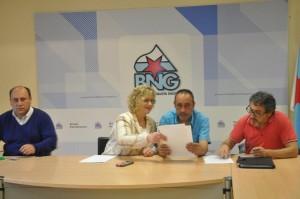 Intre da reunión co Grupo Parlamentar do BNG