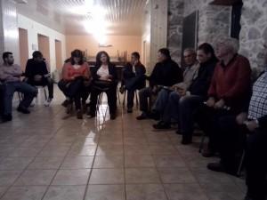 Asemblea en Nemenzo.